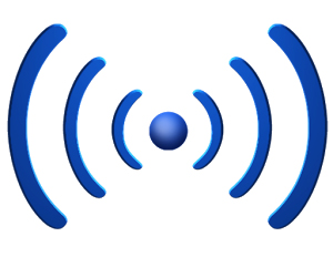logo radio wifi